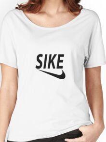 SIKE Women's Relaxed Fit T-Shirt