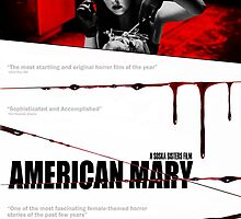 American Mary Audition Style Poster by Kaari