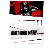 American Mary Audition Style Poster Poster