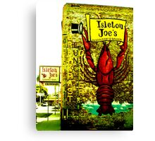 Isleton Joe's Restaurant & Saloon Canvas Print