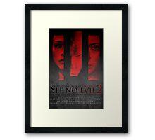 See No Evil 2 (Poster 2) Framed Print