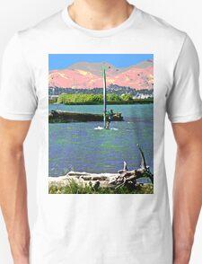 Wind Surfing off Sherman Island T-Shirt