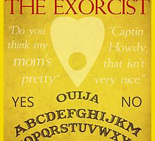 The Exorcist Poster by Kaari