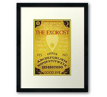 The Exorcist Poster Framed Print