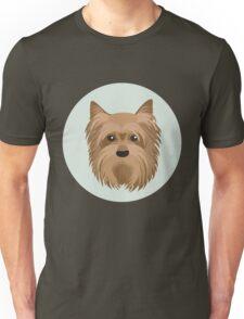 Yorkshire Terrier Pattern Unisex T-Shirt