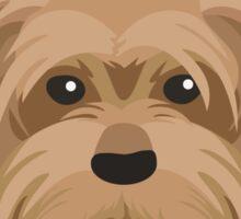 Yorkshire Terrier Pattern Sticker
