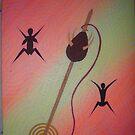Love Spindle. by Derek Trayner