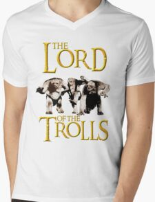 The Lord of the Trolls Mens V-Neck T-Shirt