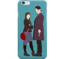Doctor, Clara iPhone Case/Skin