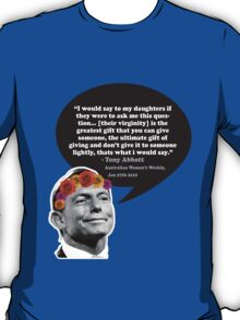 Tony Quote  T-Shirt