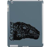 Clever Blue iPad Case/Skin
