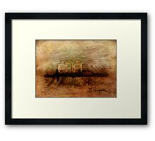 Tennyson's Manor Framed Print