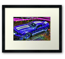 American Muscle Framed Print