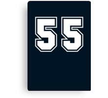 fifty five Canvas Print
