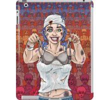The Battle of the Sports Bra iPad Case/Skin