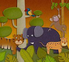 Kids Jungle Party by Gotcha29
