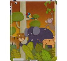Kids Jungle Party iPad Case/Skin