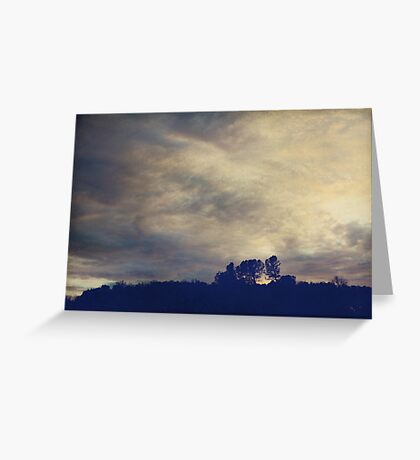 A Calm Sets In Greeting Card