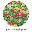 Painting Flowers (Womens Tee) by Justin Ashleigh Jones