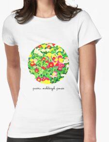 Painting Flowers (Womens Tee) T-Shirt