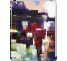 One moment in eternity,abstract nature landscape  iPad Case/Skin