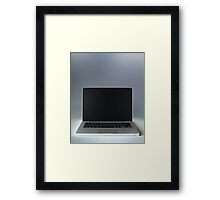 Laptop Picture iPad Framed Print