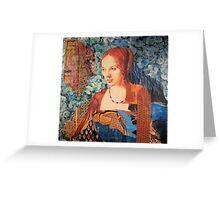 Genevieve Greeting Card