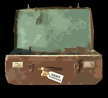 Newt Scamander's Suitcase - FANTASTIC BEASTS AND WHERE TO FIND THEM by enduratrum