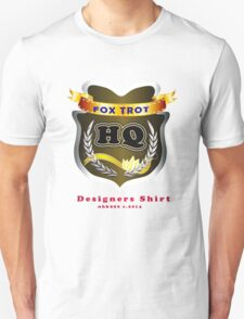 FoxTrot HQ Designers T-Shirt and Stickers. T-Shirt