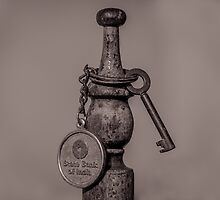 Old key and chain by Mudith Jayasekara