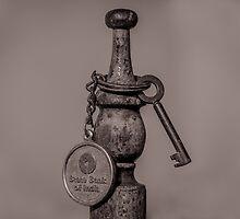 Old key and chain by Mudith Jayasekara