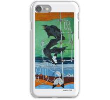 The Totem Of Two Crows iPhone Case/Skin