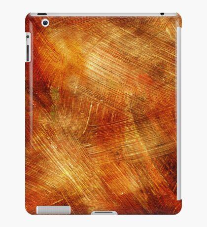 Gold Paintbrush Strokes iPad Case/Skin