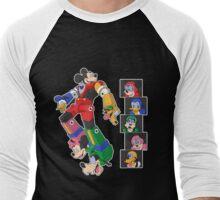 Mousetron Men's Baseball ¾ T-Shirt