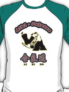 Aikido Aiki-Jujutsu Designers Tees and Stickers T-Shirt