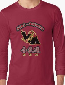 Aikido Aiki-Jujutsu Designers Tees and Stickers Long Sleeve T-Shirt