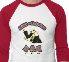 Aikido Aiki-Jujutsu Designers Tees and Stickers Men's Baseball ¾ T-Shirt