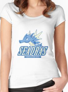 Cerulean City Seadras Women's Fitted Scoop T-Shirt