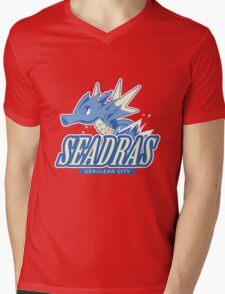 Cerulean City Seadras Mens V-Neck T-Shirt