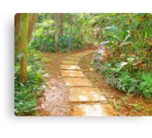 """Manoa Path"" by Carter L. Shepard Canvas Print"