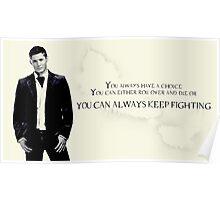 Dean Winchester Supernatural Poster