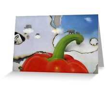 Chaser Greeting Card