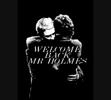Welcome Back Mr. Holmes Womens Fitted T-Shirt