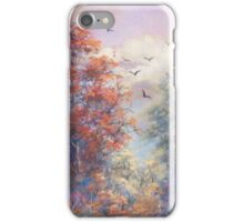 Fall in the Mountains iPhone Case/Skin