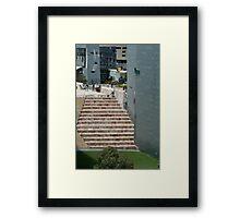 Saturday morning Framed Print