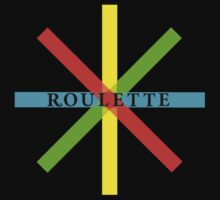 Roulette Record Label by Jenn Kellar