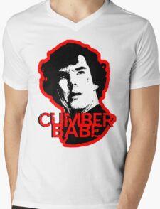 Cumberbabe Mens V-Neck T-Shirt
