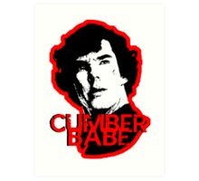 Cumberbabe Art Print