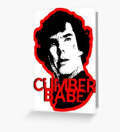 Cumberbabe Greeting Card