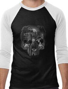 Bloodborne Skull Men's Baseball ¾ T-Shirt
